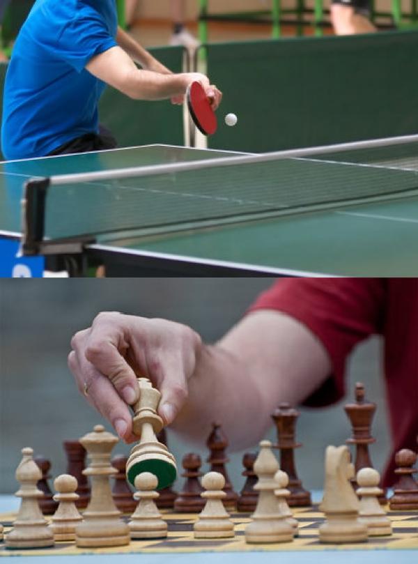 Ping pong ή Σκάκι